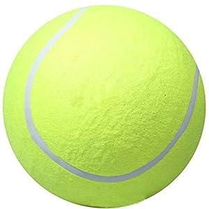 Yalulu 9.5 Große Tennisball für Hunde, Tierspielzeug Outdoor Sport Strand...