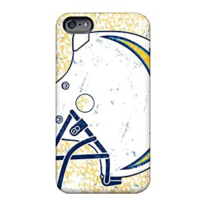 LeoSwiech Apple Iphone 6s Plus Perfect Hard Phone Cases Allow Personal Design Fashion San Diego Chargers Pattern [Spm1713ZLMs]