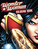 WONDER WOMAN: Coloring Book for Kids and Adults - 60 illustrations