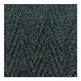 NoTrax Chevron Floor Matting - 4ft. x 6ft., Slate Blue, Model# 105S0046BU