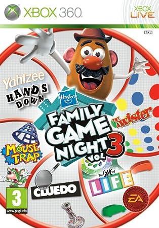 Hasbro Family Game Night 3 Xbox 360 Import UK
