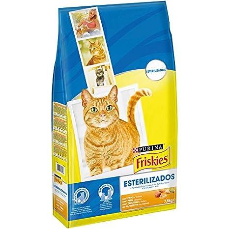 Purina - Friskies Comida para Gatos Esterilizados Pavo y Verduras - Paquete de 1 x 7.5 kg - Total: 7.5 Kg: Amazon.es: Productos para mascotas