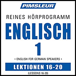 ESL German Phase 1, Unit 16-20 Hörbuch
