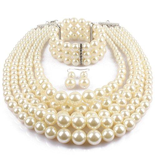 KOSMOS LI Simulated Strand Costume Jewelry product image