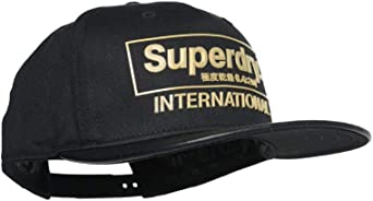 Superdry International B-Boy - Gorra, Color Negro: Amazon.es ...