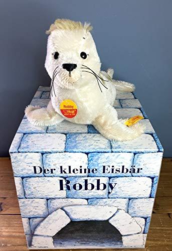 (Steiff Robby Seal 27cm Mohair German Lars The Little Polar Bear)