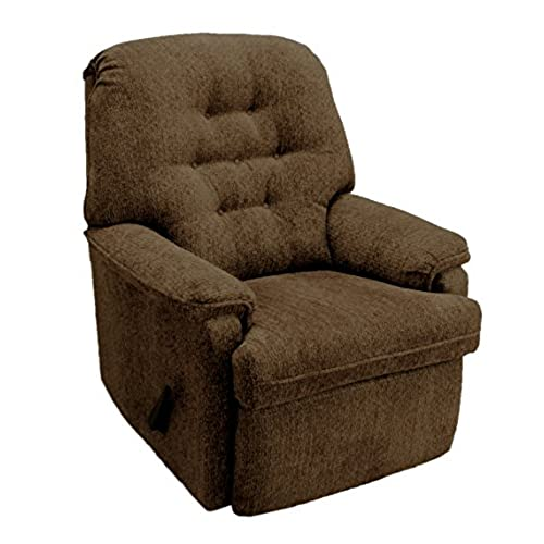 Franklin Mayfair Swivel Rocker Recliner, Café