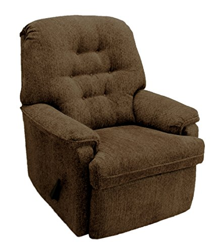 Franklin Mayfair Swivel Rocker Recliner, Café Franklin Recliner Chairs