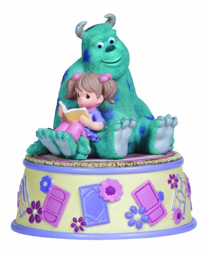 (Precious Moments, Disney Showcase Collection, Snuggle-Time, Resin Music Box, 132105)