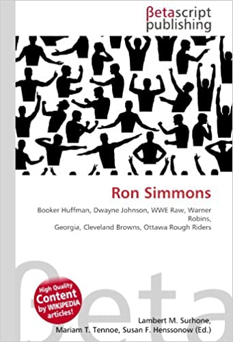 Ron Simmons: Booker Huffman, Dwayne Johnson, WWE Raw, Warner ...