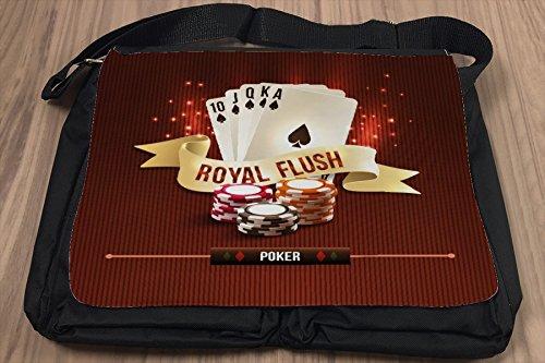 Borsa Tracolla Divertimento Poker Stampato
