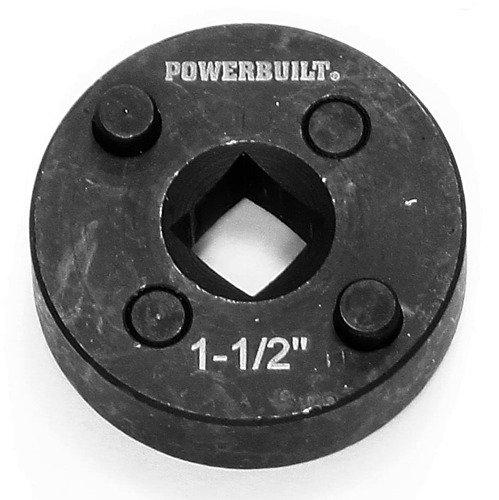 Powerbuilt 940407 1 1/2-Inch Rear Disc Brake Caliper Tool Adapter