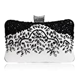 Women's Evening Bag Beaded Clutch Bags Wedding Diamond Beaded Bag Rhinestone Small Shoulder