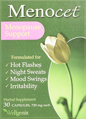 Menocet (Adstringo VTS) Herbal Supplement, Menopause Support, 30 capsules (720 mg ea)