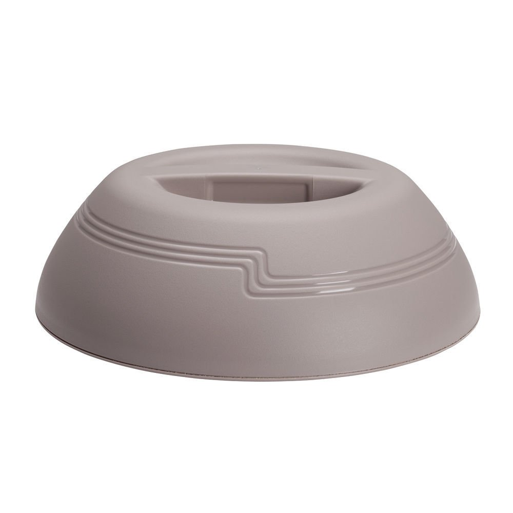 Cambro Shoreline Collection Wheat Beige Plastic Insulated Dome Cover - 10'' Dia x 2 7/8 H by CAMBRO MFG COMPANY