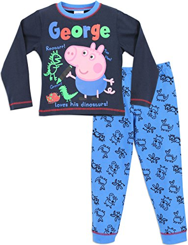 George Wutz Schlafanzug Jungen George Peppa Wutz Pyjamas 104