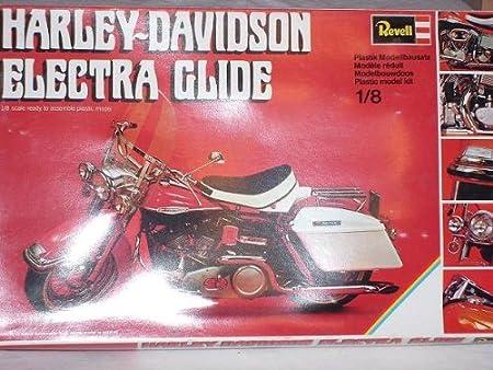 Harley Davidson Electra Glide 1224 Bausatz Kit 1 8 Revell Modellmotorrad Modell Motorrad Spielzeug