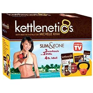 Gaiam Kettlenetics Slim and Tone Kit