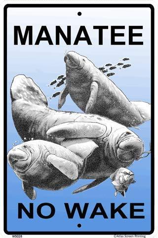 CROSSWALKS Manatee No Wake 10