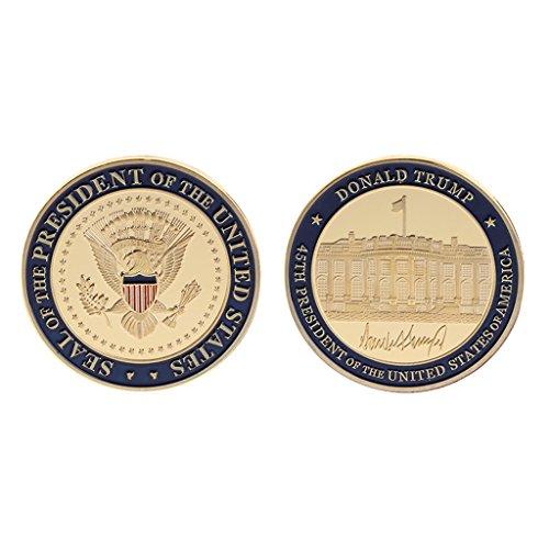 - Roboco Commemorative Coin US 45th President Donald Trump Collection Arts Gifts Souvenir US Mint