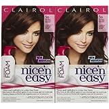 Clairol Nice 'n Easy Color Blend Foam Hair Color, 5G, Medium Golden Brown, 2 pk