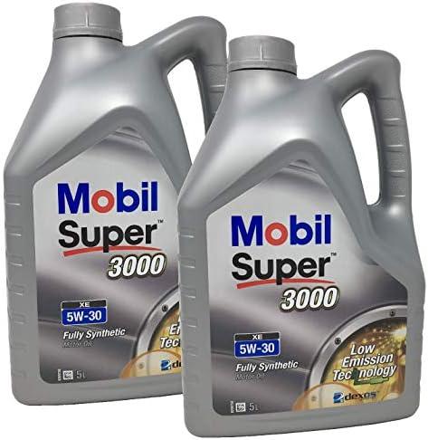 Aceite Lubricante Motor - Mobil Super 3000 XE 100% Sintetico 5W-30 ...