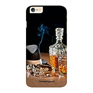 HomeSoGood Drink With Ash Tray Multicolor 3D Mobile Case For iPhone 6 Plus (Back Cover)