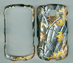 Samsung Freeform 4 R390 Case Cover Snap on Hard Faceplate Protector Camo Tree
