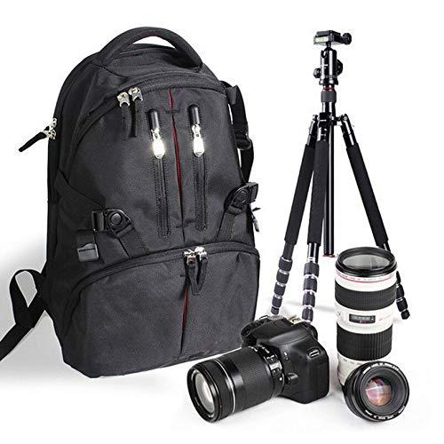 Professionnel /Étanche Antichoc Num/érique SLR DSLR Cam/éra Sac Doux Rembourr/é Sac /À Dos Adapt/é pour Canon pour Nikon