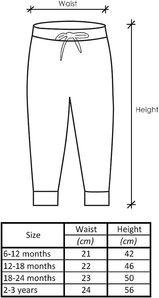 Lovjoy Pantaloni Bambino//Pantaloni Casual Morbidi e Confortevoli 100/% Cotone