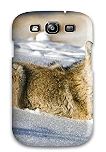 9438764K61128261 Animal Wolf Feeling Galaxy S3 On Your Style Birthday Gift Cover Case