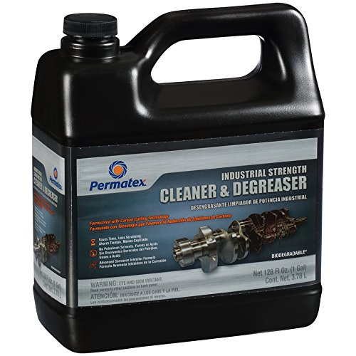 Permatex 12546 Industrial Strength Cleaner and Degreaser, 128. Fluid_Ounces