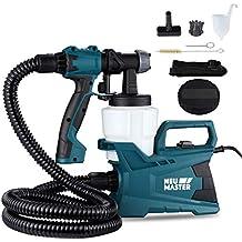 NEU MASTER N3140 Electric HVLP Spray Gun Power Paint Sprayer with 3 Adjustable Spray Patterns, Adjustable Valve Knob, for Spray Painting & Painting Projects
