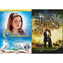 Fairy Tale Set - Princess Bride and Ella Enchanted Family Fantasy 2-DVD Comedy Bundle