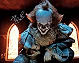 #5: Bill Skarsgard as Pennywise in IT reprint signed 8x10 photo #2