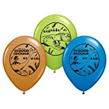 Qualatex 23072 Licensed Disney Pixar the Good Dinosaur Latex Balloons, Multicolored