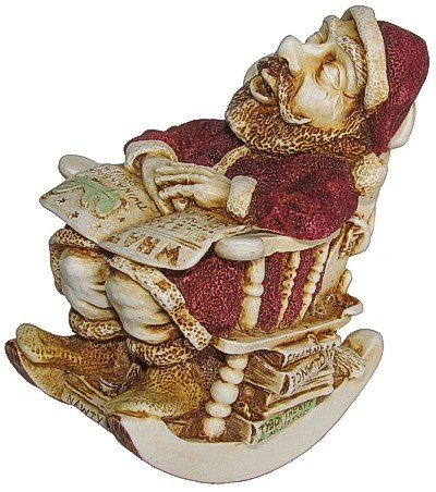 Harmony Kingdom - Jingle Bell Rock - Christmas Santa Figurine ()