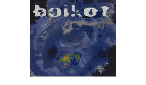 album de espaldas al mundo boikot