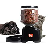 WW 5.5L Pet Feeder Cats And Dogs Regular Meals For Three Meals Automatic Feeding Machine Can Record For 10 Seconds Voice Reminds Pets To Eat