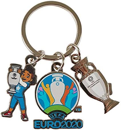UEFA EURO 2020/™ Porte-cl/é Charm Mascot