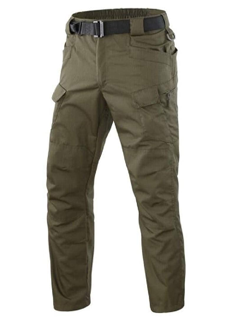 Domple Mens Big /& Tall Multi-Pockets Casual Outdoor Military Tactical Cargo Pants