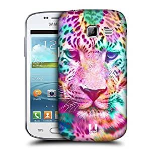 AIYAYA Samsung Case Designs Leopard Trend Mix Protective Snap-on Hard Back Case Cover for Samsung Galaxy Trend II Duos S7572