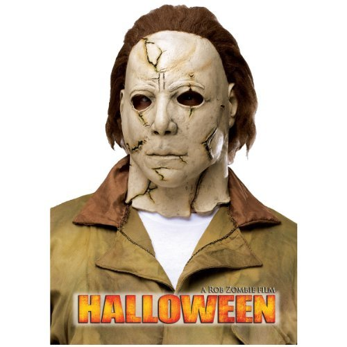 Fun World Rob Zombie's Halloween: Michael Myers Adult Mask, Beige / Red, One ()