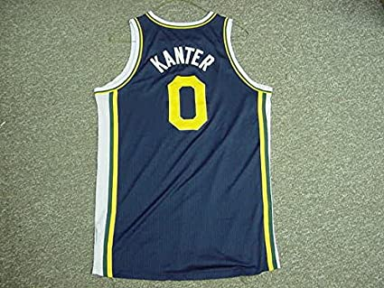 new style 5a7d5 59e7b Enes Kanter Utah Jazz 2011-12 Game Worn Road Jersey at ...