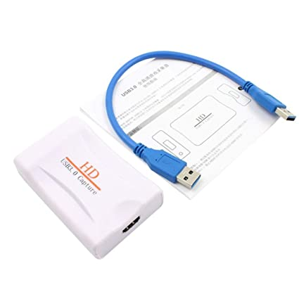 Amazon com: HD USB 3 0 Capture HDMI Video Capture Dongle 1080P 60FPS