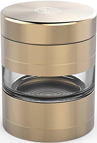 large 5 piece herb grinder - 4