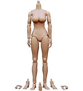 eb56b92d958 ZYAQ 1/6 Scale Xanthoderma Large Bust Female Nude Action Figure Body Model  Doll with