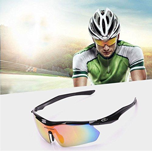Ciclismo explosiones PC Polvo Material al Libre a a y Impermeables Prueba Red de de la Prueba Gafas Sol de Aire vZUIIq