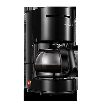 WLM Mini máquina de café, electrodomésticos, cafetera de Goteo Estadounidense automática, Tetera de Oficina,Negro,26 * 18 * 13cm: Amazon.es: Deportes y aire ...