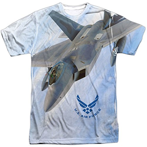 shirt Airforce Courtes T Homme Blanc Manches Opaque 577gr